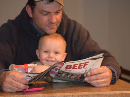 Reading Beef Magazing
